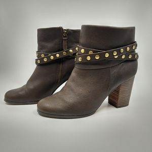 Denver Hayes Leather Ankle Boots